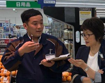 店舗OJT指導(スーパーマーケット様)の画像