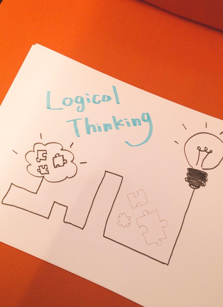 論理的思考の画像