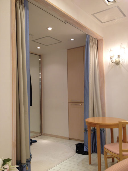 ソーシャルディスタンスと接客③ ~フィッティングルーム編~の画像