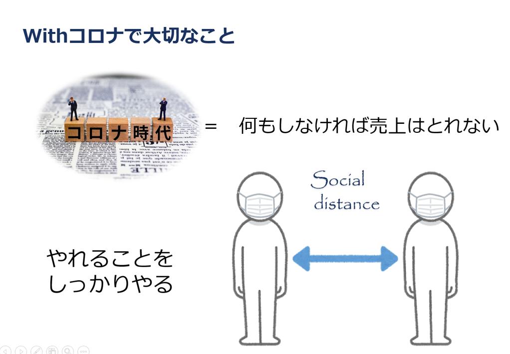 【WEB(動画)研修】ソーシャルディスタンスを考えたアプローチ(商業施設様用)の画像